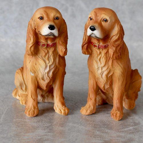 Mini Cocker spaniel Gun Dog Statues