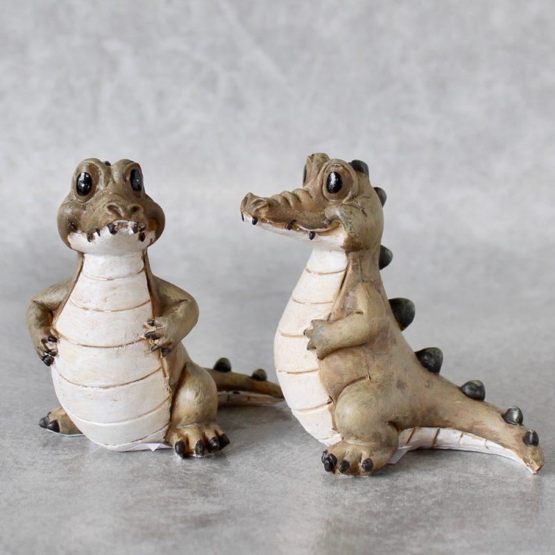 Mini Crocodile Sea Animal Statues
