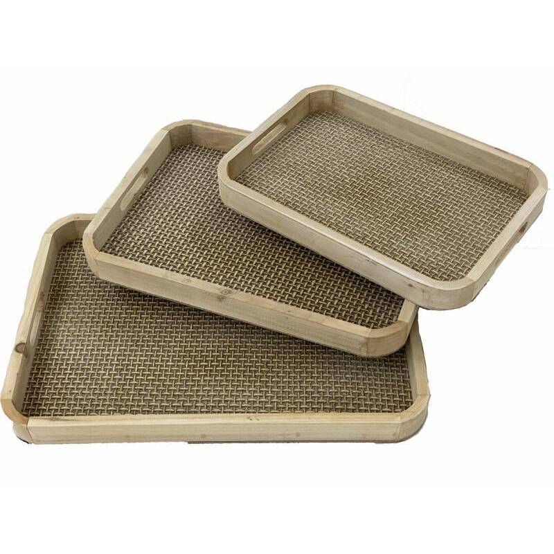 Rectangle Wooden Serving Tray