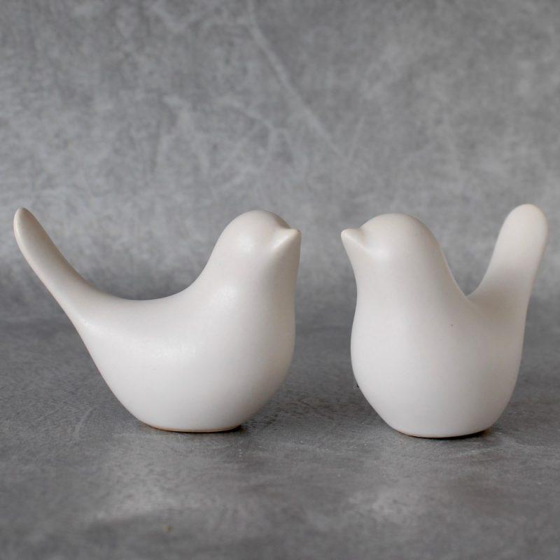 White Dove Bird Figurine Ornament