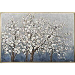 Blossom Tree Framed Canvas