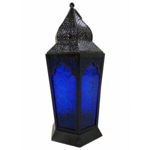 Bohemian Boho Glass Candle Lantern