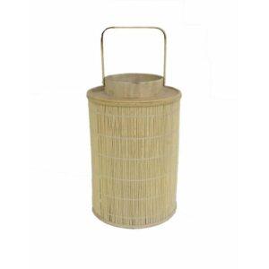 Natural Bamboo Candle Lantern