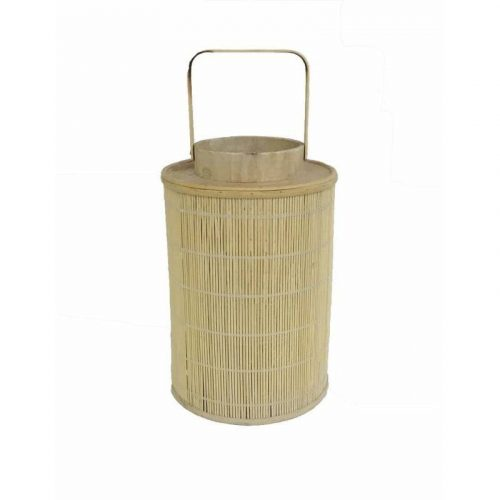 Natural Bamboo Candle Lantern