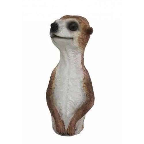 Meerkat Statue Standing Resin Animal Figurine