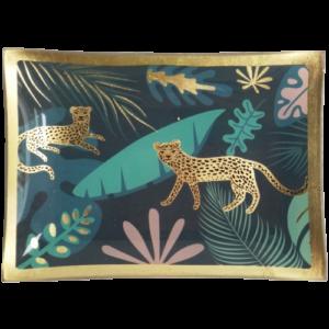 Golden Cheetah Jungle Trinket Dish