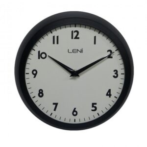 Round Leni Silent Wall Clock