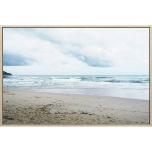 Virginia Beach Framed Canvas Print Wall Art