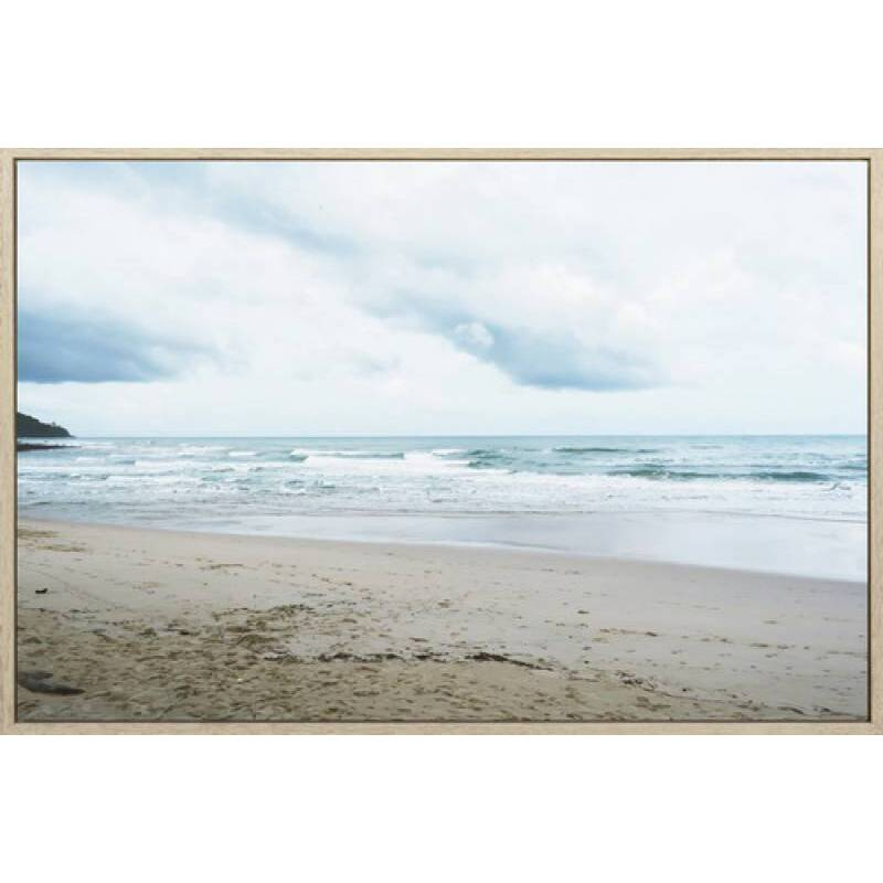 Virginia Beach Framed Canvas Print Wall Art