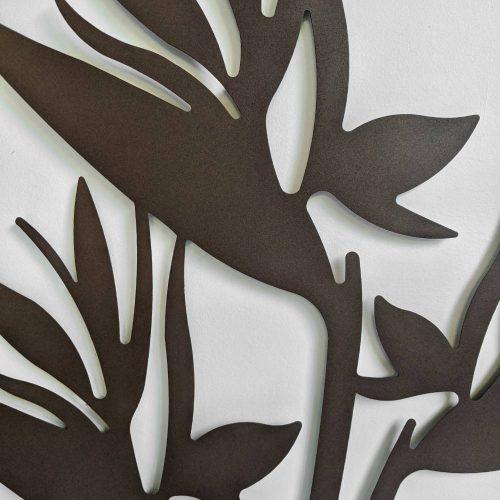 Rustic Paradise Birds Metal Wall Art_d_g