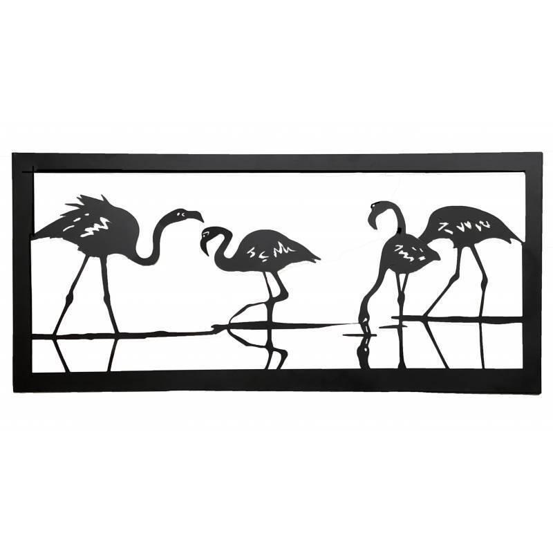 Flamingo Bird Metal Art