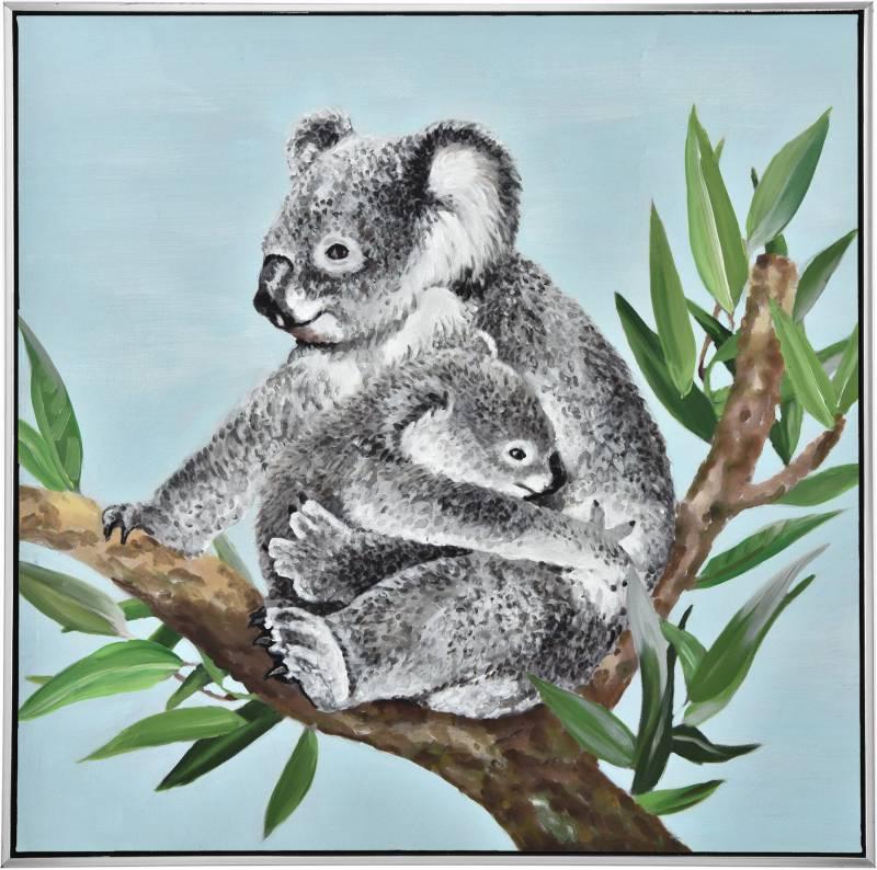 Koala Baby Love Framed Canvas Wall Art