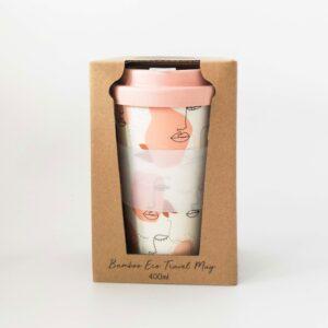 Linear Girl Eco Travel Mug Coffee Cup