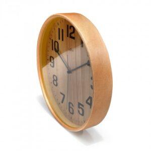 Natural Wood LENi Silent Wall Clock