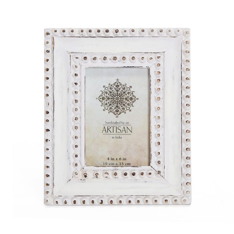 Coastal Whitewashed Photo Picture Frame