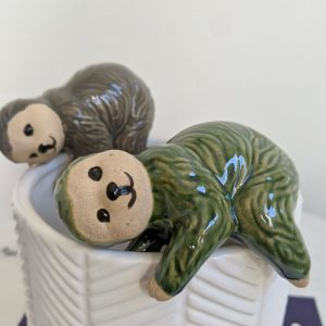 Sloth Pot Sitter