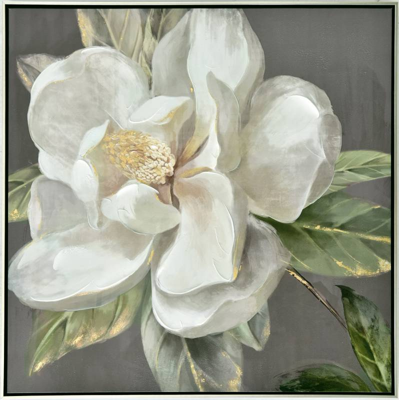 Spring Flower Framed Canvas Print Wall Art