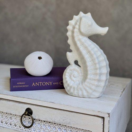 Coastal Seahorse Statue