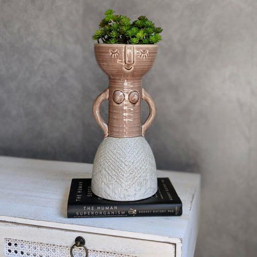 Girl Ceramic Vase