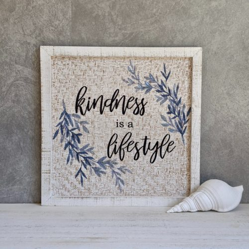 Kindness Sign Wall Art