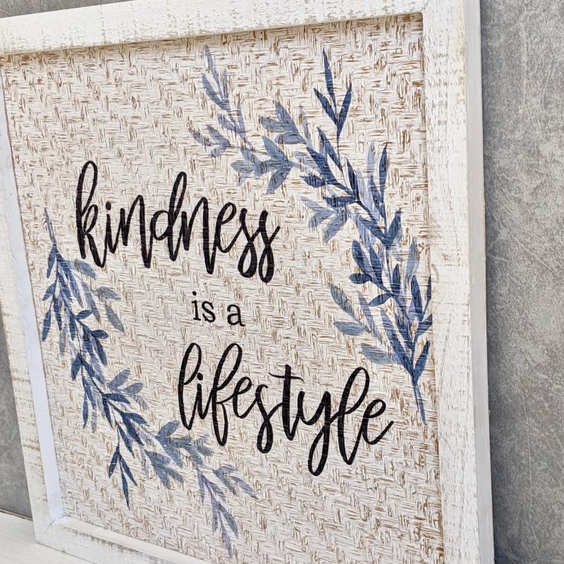 Kindness Sign Wall Art