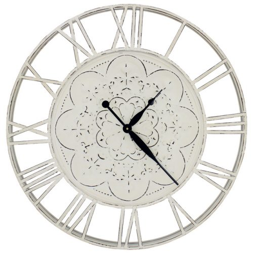 Pressed Metal Wall Clock