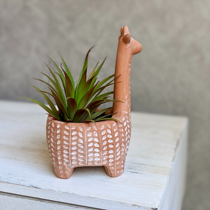 Lama Lamma Terracotta Pot Planter
