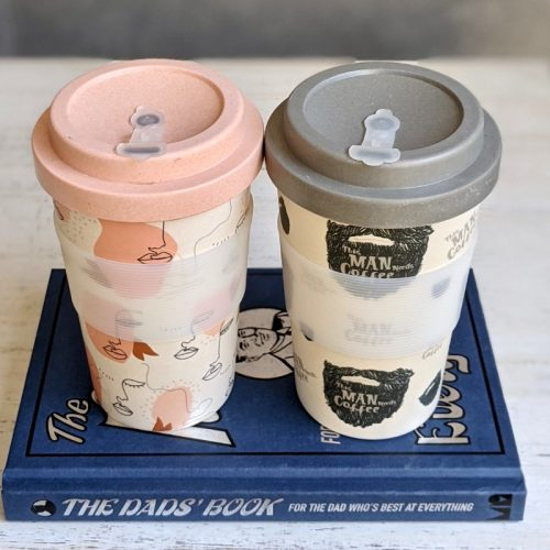 This Man Needs Coffee Eco Travel Coffee Cup Mug
