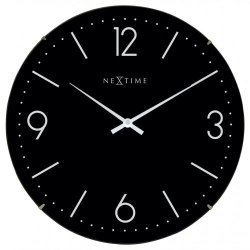 Black Dome NeXtime Wall Clock