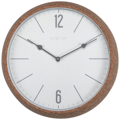White Cork NeXtime Silent Wall Clock