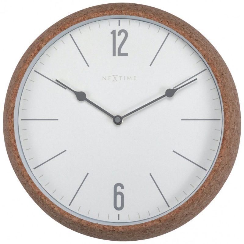White Cork NeXtime Silent Wall Clock