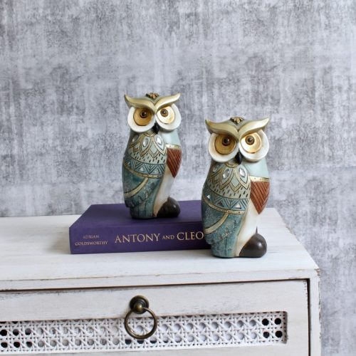 Owl Set Figurine