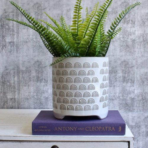Grey Rainbow Planter