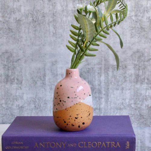 Pink Geo Vase