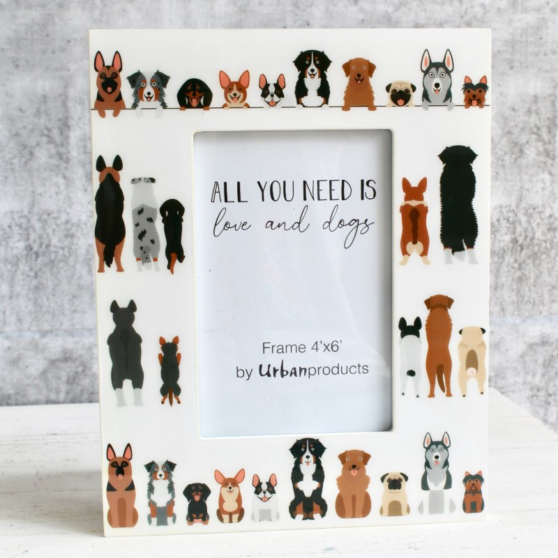 Cats and Dogs Photo Picture Frame
