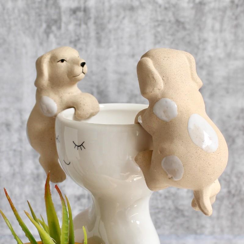 Dog Pot Sitter - Set of 2