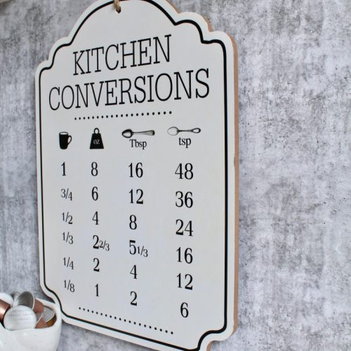 Kitchen Conversions Wooden Wall Plaque Sign
