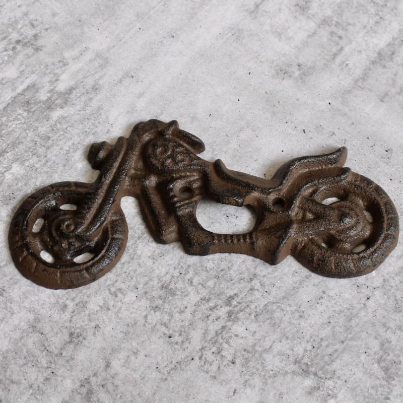 Motorbike Cast Iron Beer Bottle Opener