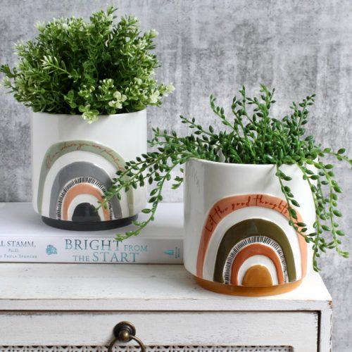 Rainbow Planter Pot