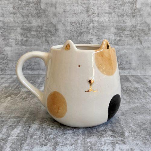 Kitty Cat Ceramic Coffee Mug