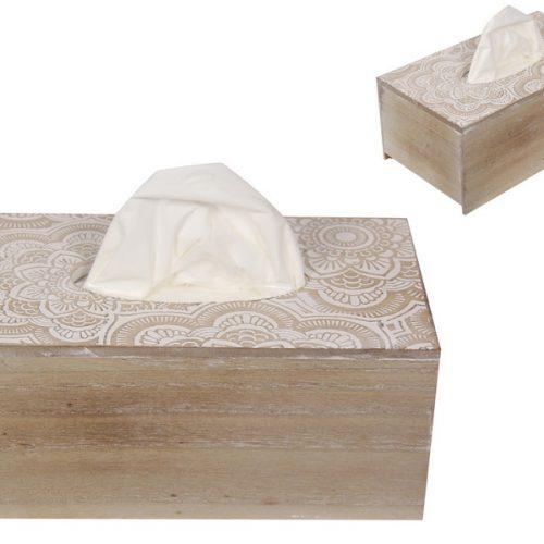Hamptons Floral Mandala Tissue Box