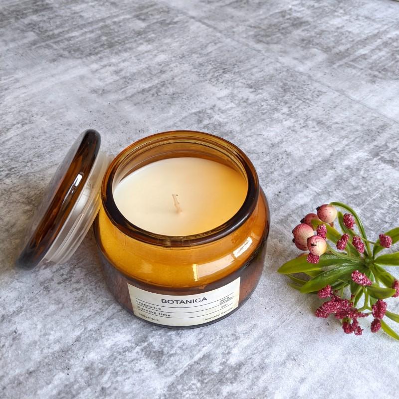 Herb Garden Scented Jar Candle