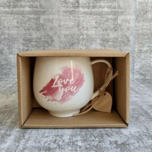 Love Quote Ceramic Coffee Mug