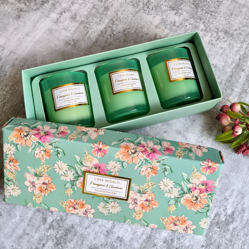 Scented Candle Trio Gift Set