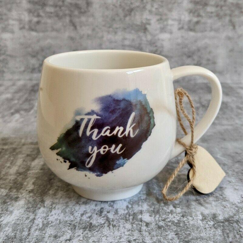 Thank You Quote Ceramic Coffee Mug