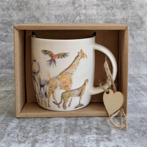Zoo Animals Ceramic Coffee Mug