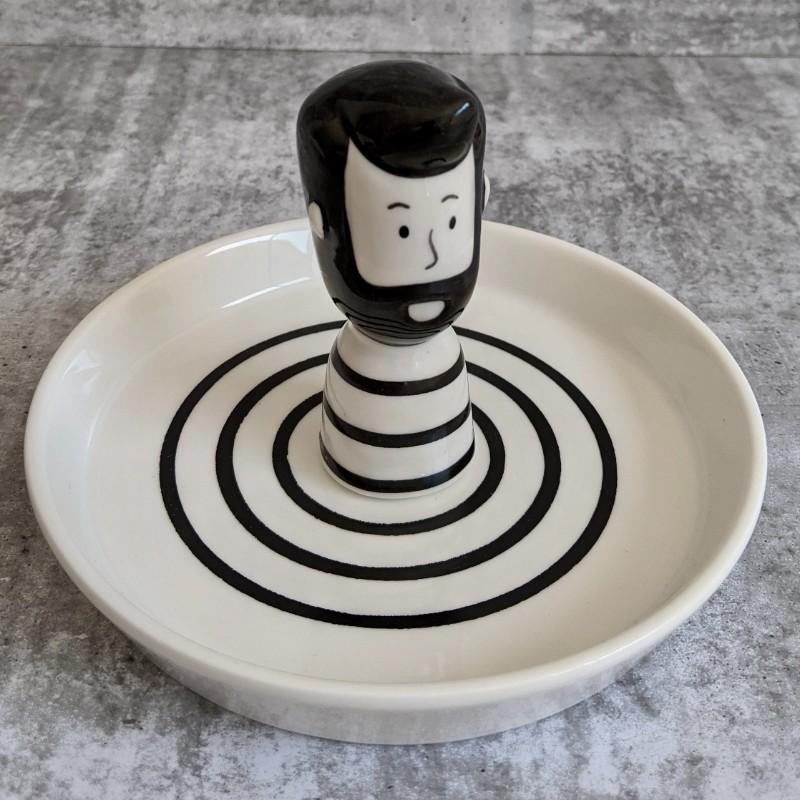 Girl Boy Trinket Dish