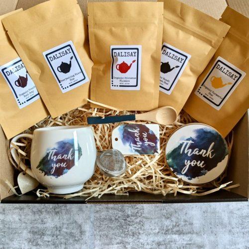Thank You Mug Chai Tea Gift Box