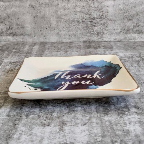 Thank You Ceramic Trinket Dish