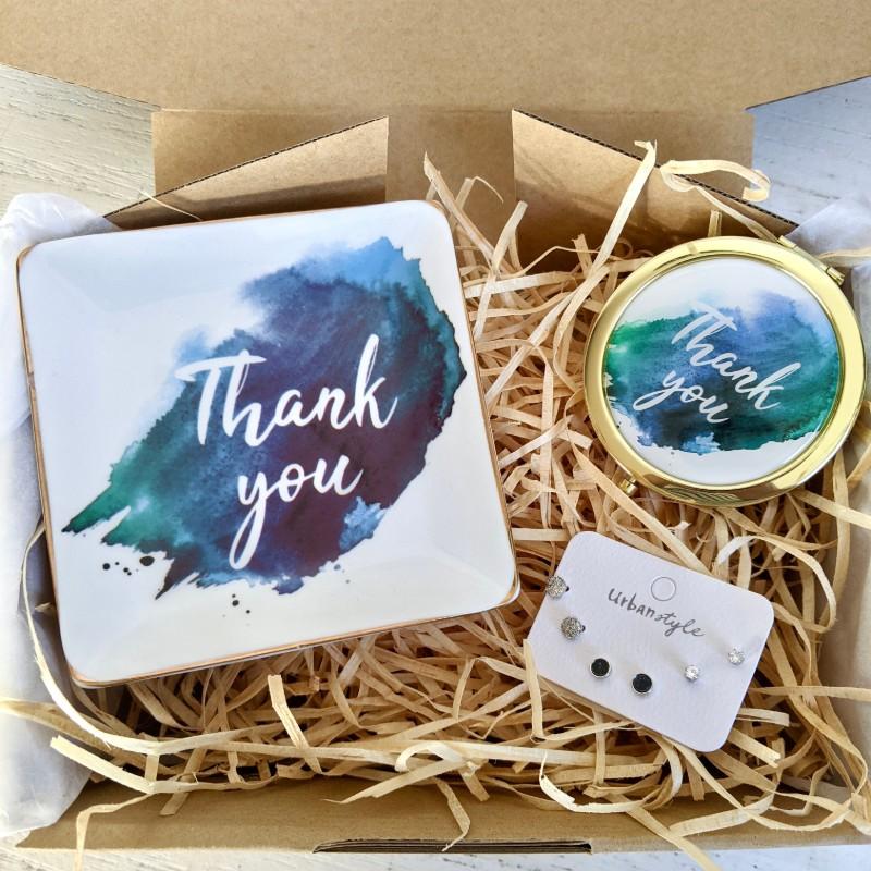 Earring Lovers Gift Hamper | Birthday Box - Earrings + Candle + Trinket Dish